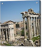 Old City Roma Acrylic Print