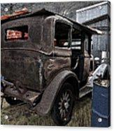 Old Classic Car Acrylic Print