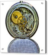 Old Clock Acrylic Print