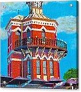 Old Clock Tower Acrylic Print