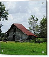 Old Country Acrylic Print
