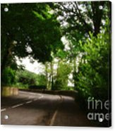 Old Country Road - Peak District - England Acrylic Print