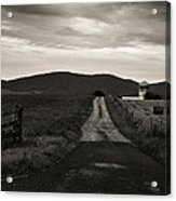 Old Country Roads Acrylic Print
