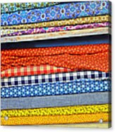Old Country Store Fabrics Acrylic Print