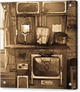 Old Country Stove Acrylic Print