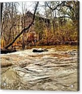 Old Dial Mill On The Rushing Waters Of Big Haynes Creek Acrylic Print