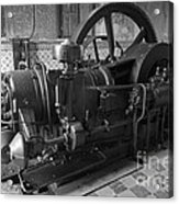 Old Diesel Motor Mexico Acrylic Print
