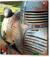 Old Dodge Truck Acrylic Print