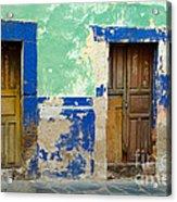 Old Doors, Mexico Acrylic Print