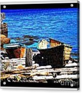 Old  Dory New Punt Acrylic Print