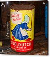 Old Dutch Acrylic Print