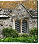 Old English Acrylic Print