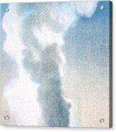 Old Faithful Geyser Yellowstone Np Acrylic Print