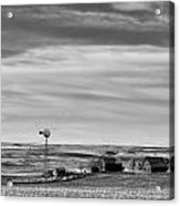 Old Farm - Baseline Road - Waterville - Waterville - Washington - May 2013 Acrylic Print