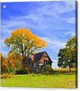 Old Farm Home Acrylic Print