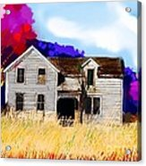 Old Farm House Acrylic Print
