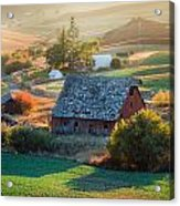 Old Farm In Eastern Washington Acrylic Print