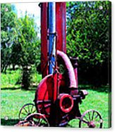 Old Farm Machinery Acrylic Print