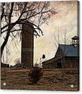 Old Farmstead  Acrylic Print