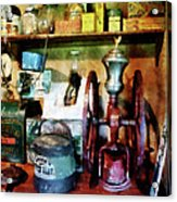Old-fashioned Coffee Grinder Acrylic Print