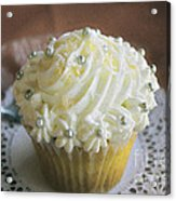 Old Fashioned Lemon Cupcake Acrylic Print