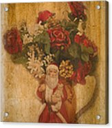 Old Fashioned St Nick Acrylic Print