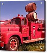 Old Fire Truck Acrylic Print