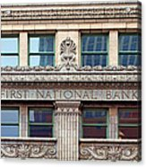 Old First National Bank - Building - Omaha Acrylic Print