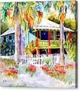 Old Florida House  Acrylic Print