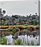 Old Florida Waterway Acrylic Print