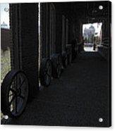 Old Flour Mill Corridor Acrylic Print
