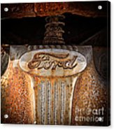 Old Ford Square Format Acrylic Print