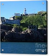 Old Fort Amherst By Barbara Griffin Acrylic Print
