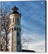 Old Fort Niagara Lighthouse 4478 Acrylic Print