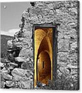 Old Fort Through The Magic Door Acrylic Print