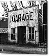 Old Garage Acrylic Print