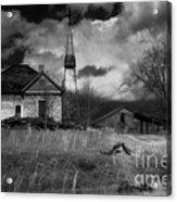Old Georgia Farm Acrylic Print