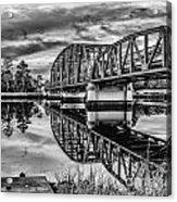 Old Georgia Florida Bridge Acrylic Print