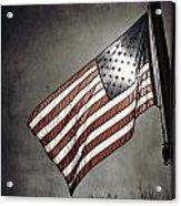 Old Glory - American Flag Photograph Acrylic Print by Amelia Matarazzo