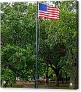 Old Glory High And Proud Acrylic Print