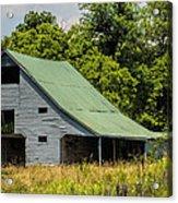 Old Gray Barn Acrylic Print