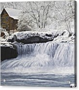 Old Grist Mill Acrylic Print