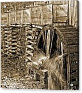 Old Grist Mill Photo Acrylic Print