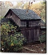 Old Grist Mill Acrylic Print by Thomas Woolworth