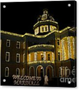 Old Harrison County Courthouse Acrylic Print
