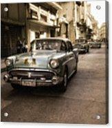 Old  Havana  Street Acrylic Print