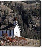 Old Headly Church Acrylic Print