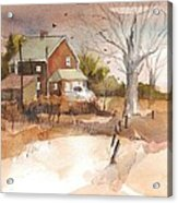 Old Home Place Acrylic Print by Robert Yonke