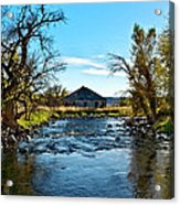 Old Homestead Along Hwy 16 Acrylic Print
