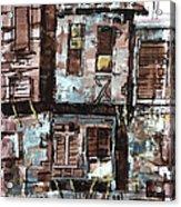 Old Hopuse Acrylic Print